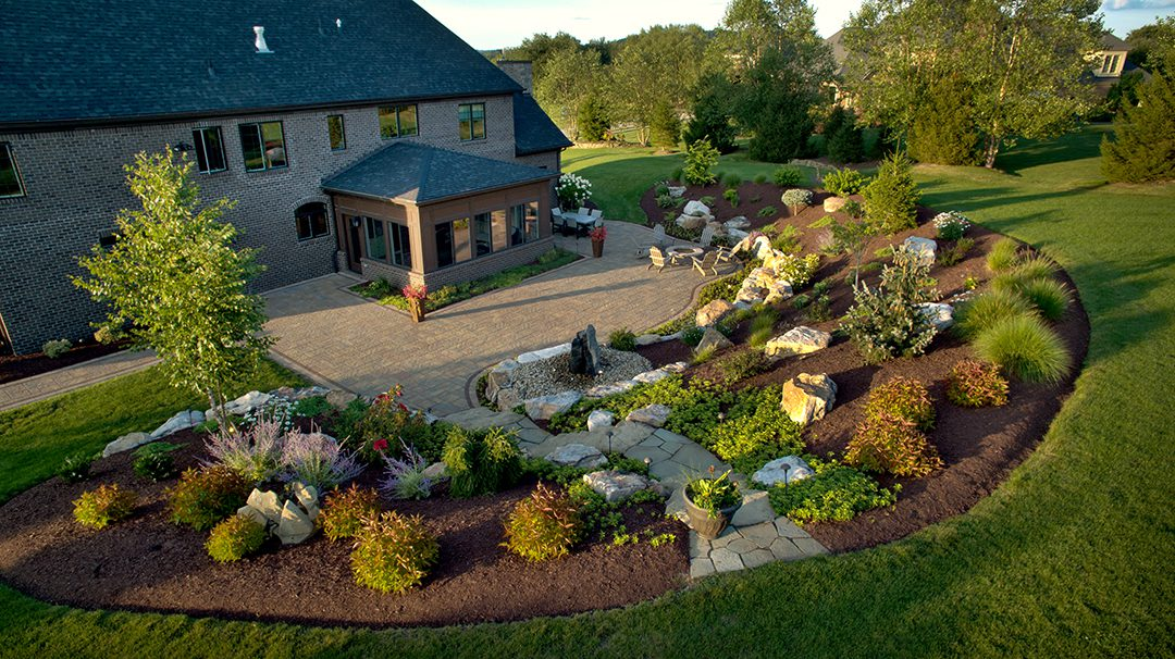 North Hills Beauty Designed by Beall's Landscaping