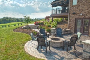 North Huntingdon Hilltop Estate designed by Beall's Landscaping