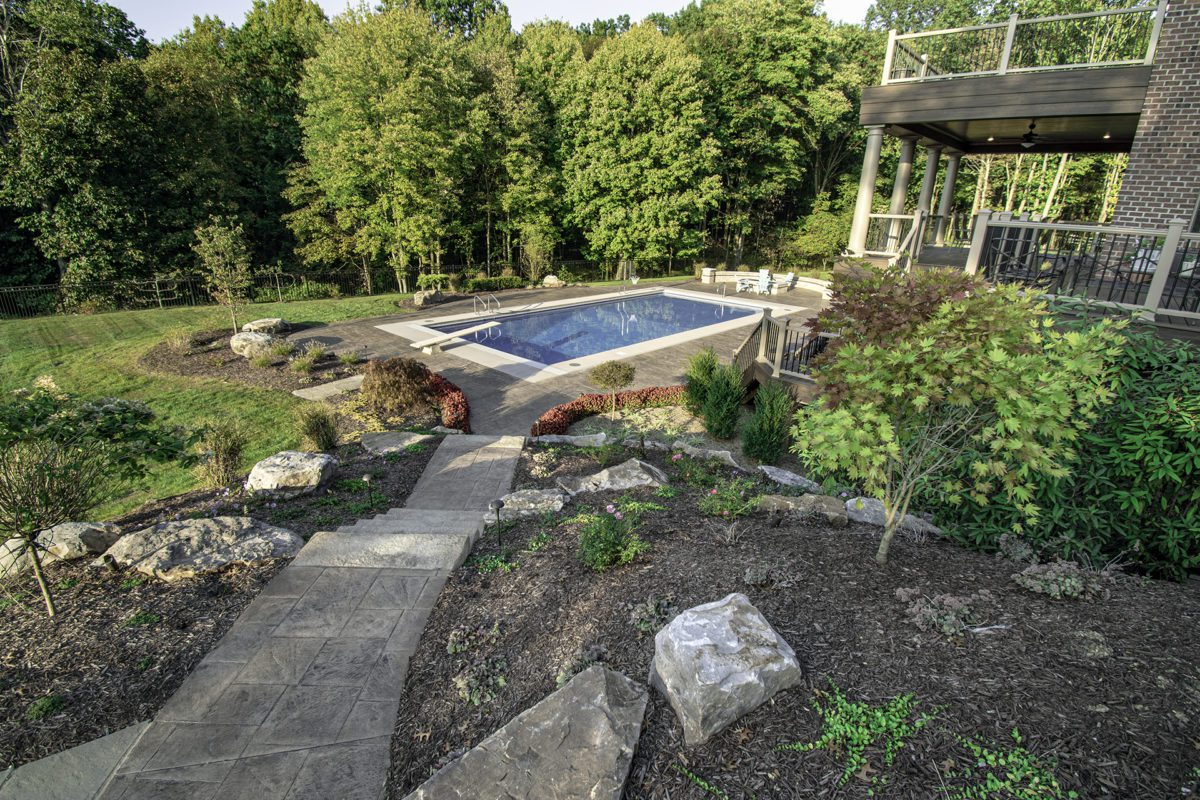 Copper Creek Complete Landscape Design by Beall's Landscaping