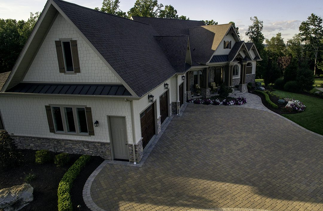 Beall's Landscaping beautiful design projects - Driveway installation
