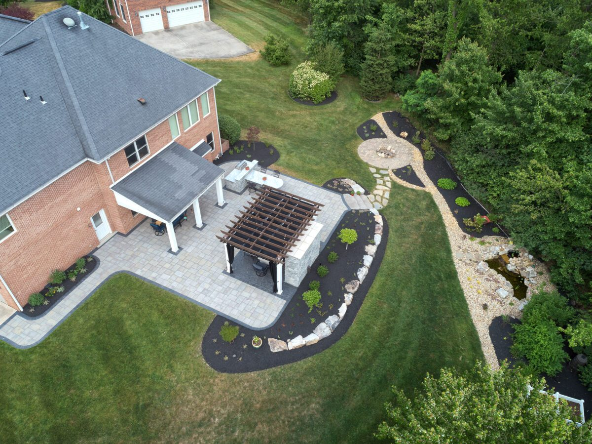 Fox Chapel Backyard Upgrade Designed by Beall's Landscaping