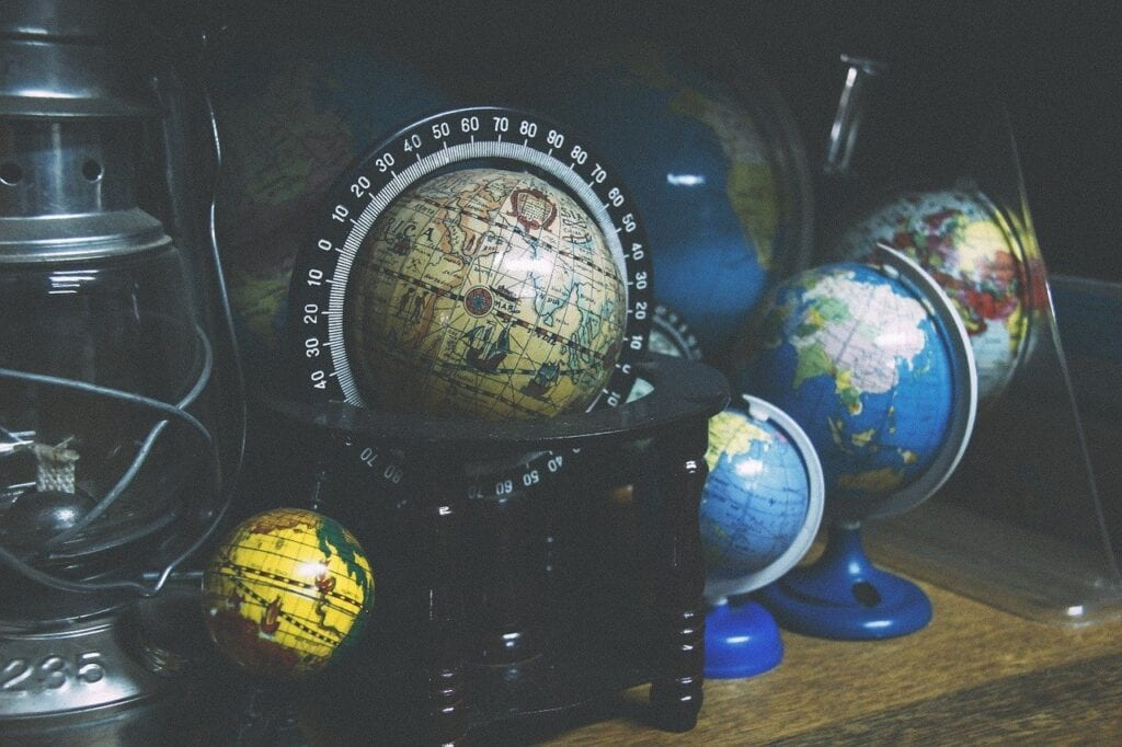 globes, world, geography