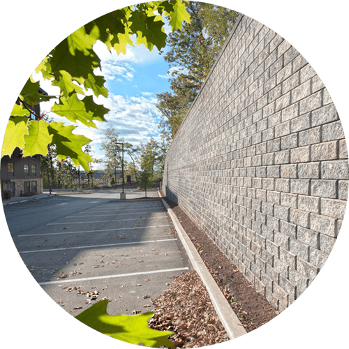 High quality retaining wall systems by redcat site development