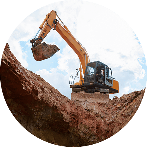 Excavating service pittsburgh, PA - Redcat Site Development