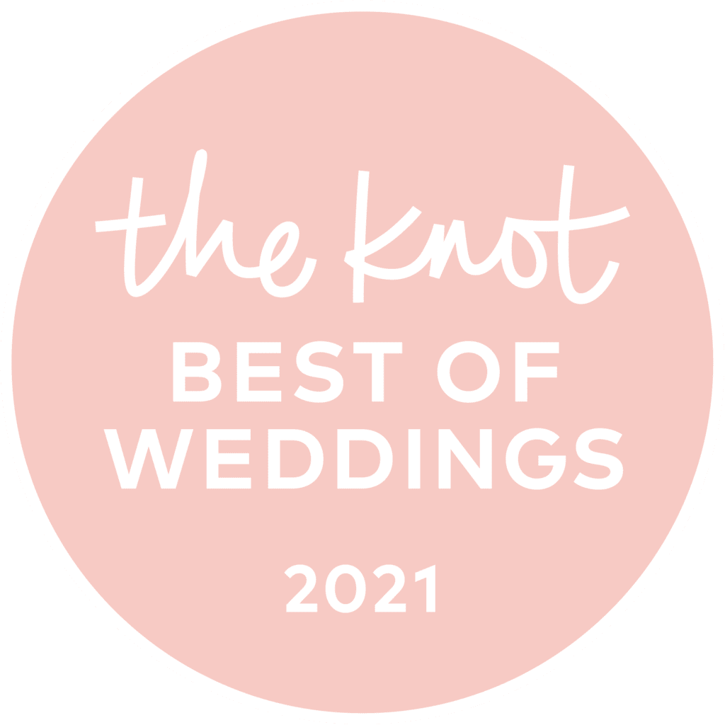 The Knot.com - Best of weddings: 2021 award winner